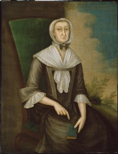 Portrait: Mrs. John Edwards (Abigail Fowle) about 1750–60 Joseph Badger (American, 1708–1765) Museum of Fine Arts, Boston